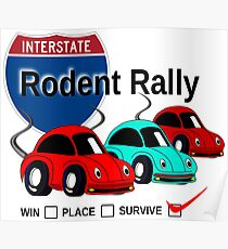 Rodent Rally Poster