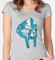 MF Doom — Metal Fingers Mask Women's Fitted Scoop T-Shirt