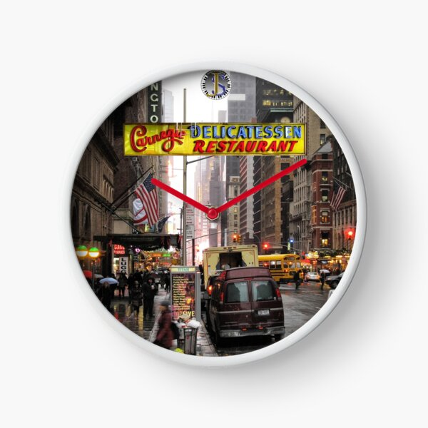 Carnegie Deli Clock Clock