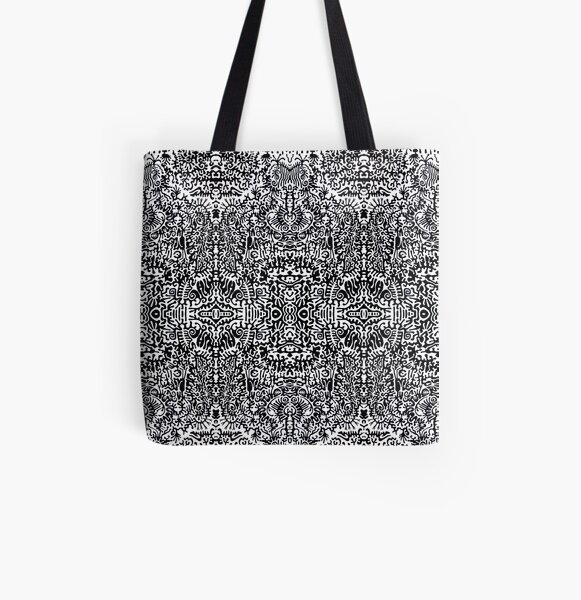 This is a big black dream All Over Print Tote Bag
