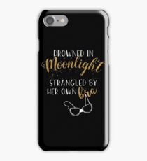 Drowned in Moonlight - Carrie Fisher iPhone Case/Skin