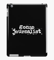 Gonzo Journalist iPad Case/Skin