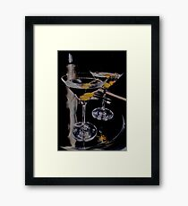 Martini Time! Framed Print