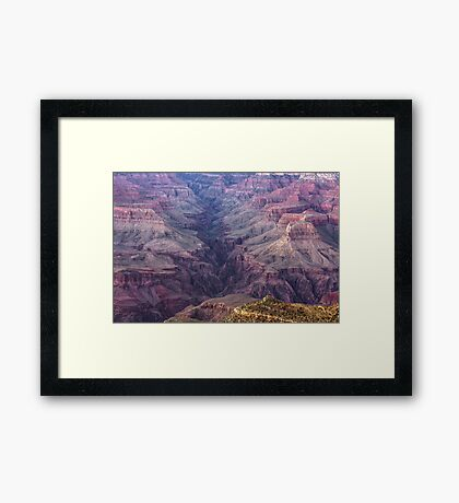 Over The Years - Grand Canyon, Arizona Framed Print