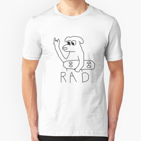 rad dog Slim Fit T-Shirt