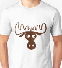 A moose head Funny shirt T-Shirt