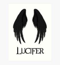 Lucifer Art Print