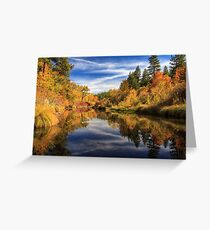 Susan River 10-28-12 Greeting Card