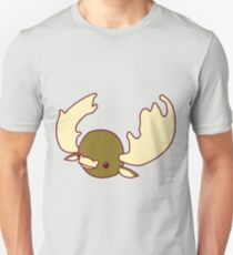 An illustration of a Moose- bull moose t shirt Unisex T-Shirt
