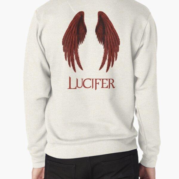 Lucifer red Pullover Sweatshirt