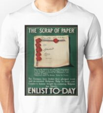 Vintage poster - The Scrap of Paper T-Shirt