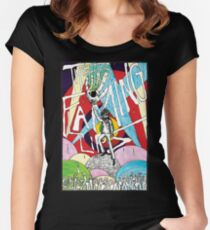 Wayne and the Laser Hand Women's Fitted Scoop T-Shirt
