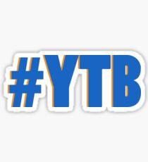 #YTB - yeah the boys Sticker