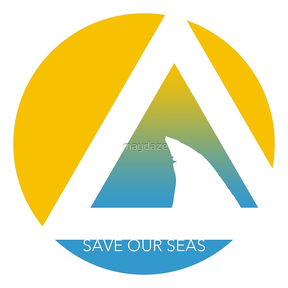 save our seas tricircle by maydaze