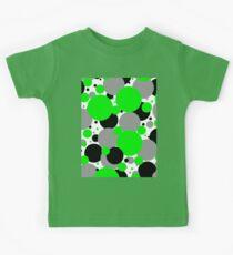 Green Polka Dots Kids Tee