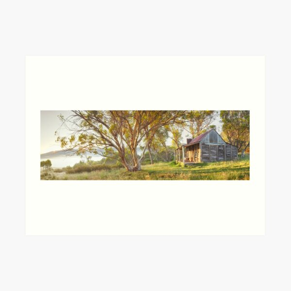 Wheelers Hut, Jagungal Wilderness, Kosciuszko, New South Wales, Australia Art Print