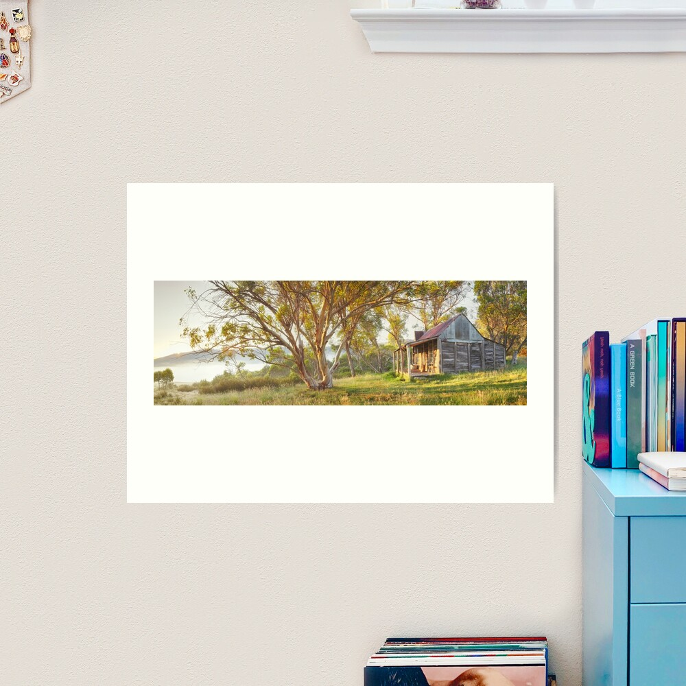 Wheelers Hut, Jagungal Wilderness, Kosciuszko, New South Wales, Australia Art Print