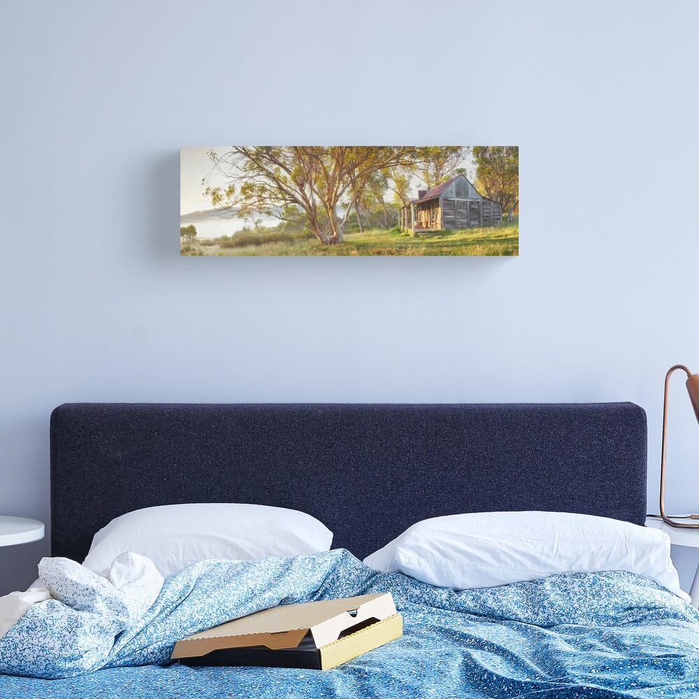 Wheelers Hut, Jagungal Wilderness, Kosciuszko, New South Wales, Australia Canvas Print