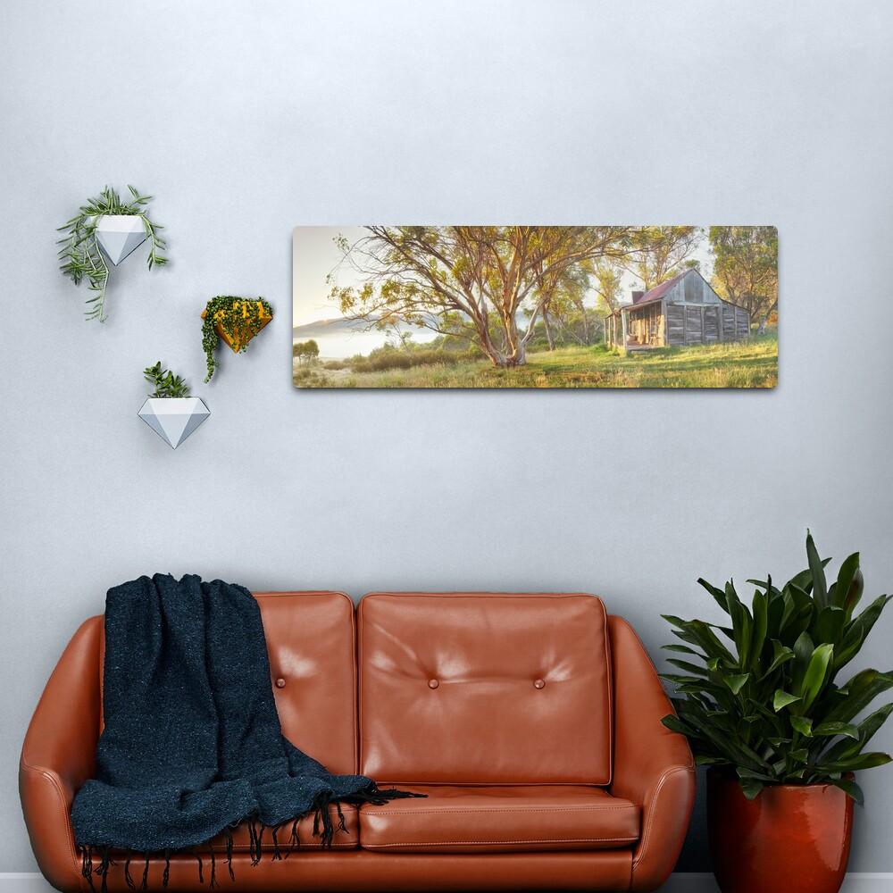 Wheelers Hut, Jagungal Wilderness, Kosciuszko, New South Wales, Australia Metal Print