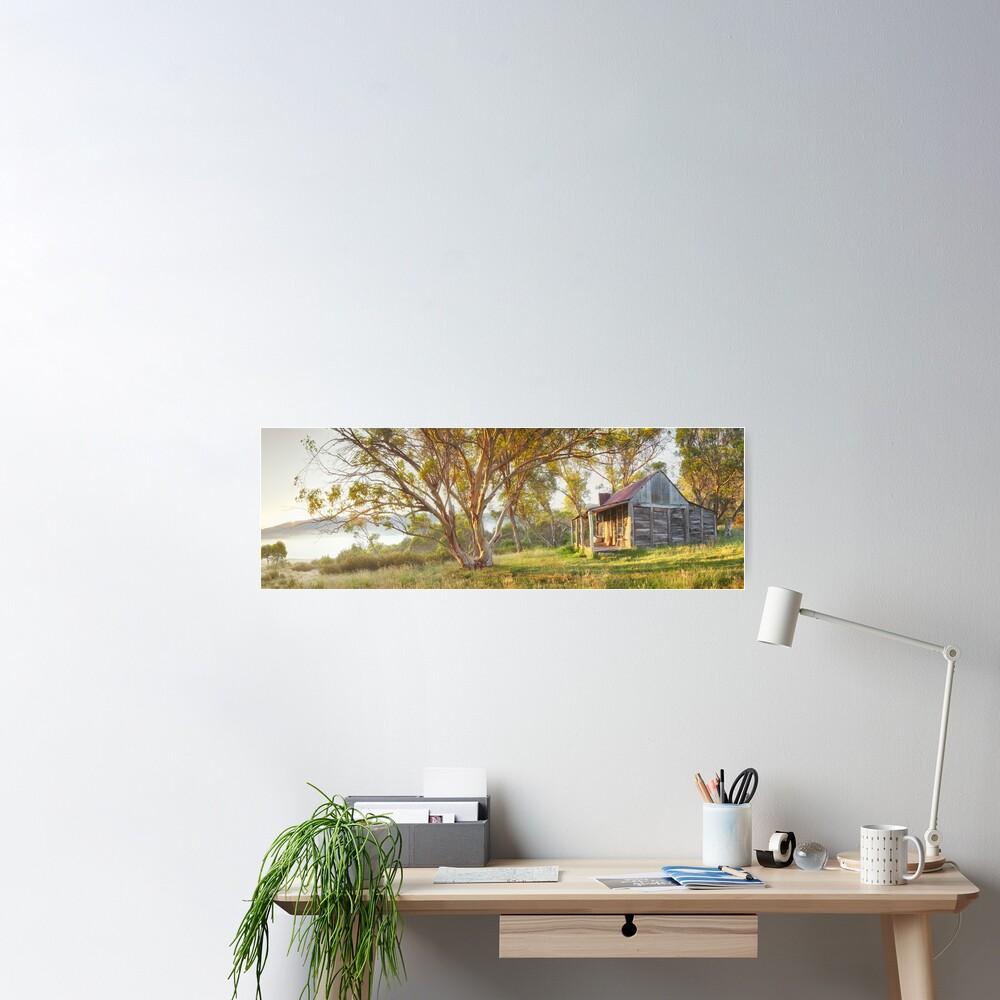 Wheelers Hut, Jagungal Wilderness, Kosciuszko, New South Wales, Australia Poster