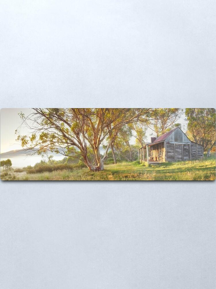 Alternate view of Wheelers Hut, Jagungal Wilderness, Kosciuszko, New South Wales, Australia Metal Print