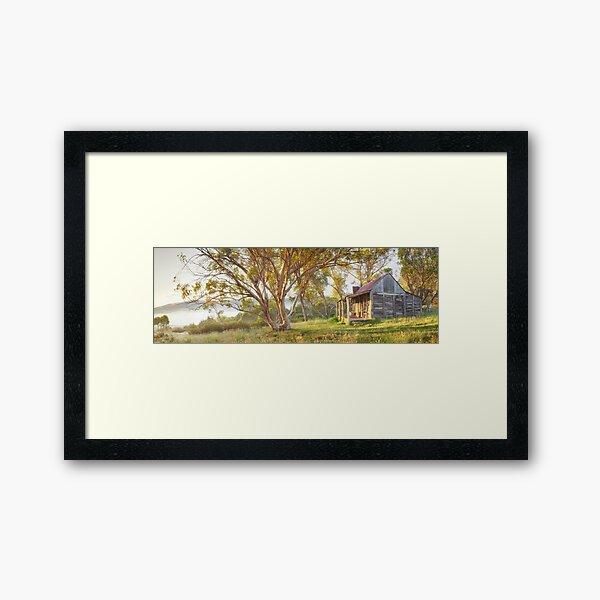 Wheelers Hut, Jagungal Wilderness, Kosciuszko, New South Wales, Australia Framed Art Print