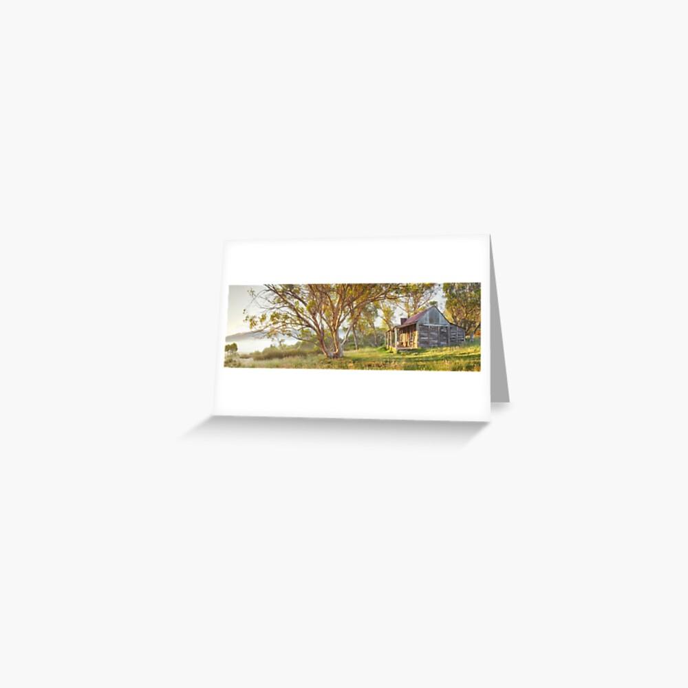 Wheelers Hut, Jagungal Wilderness, Kosciuszko, New South Wales, Australia Greeting Card
