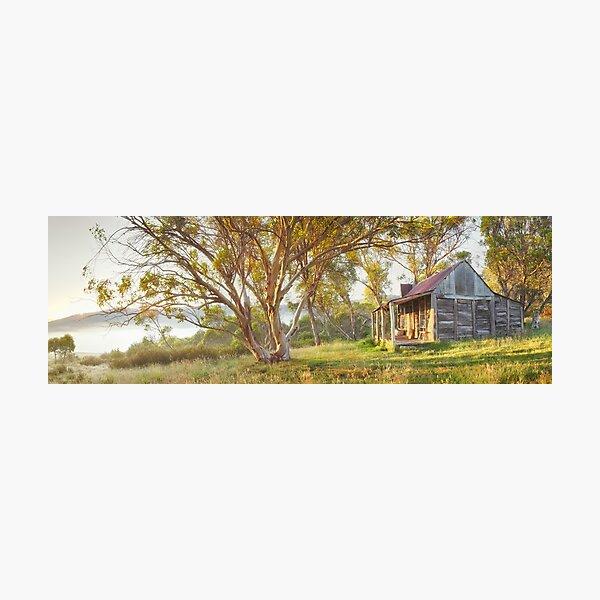 Wheelers Hut, Jagungal Wilderness, Kosciuszko, New South Wales, Australia Photographic Print