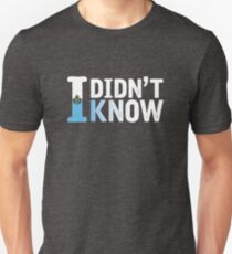Serhat - I Didn't Know [2016, San Marino] Unisex T-Shirt