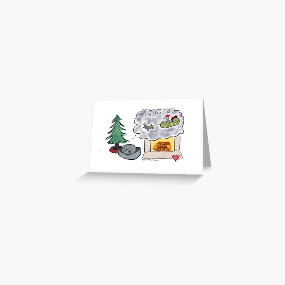 Jack - Christmas Dreams Greeting Card