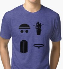 Leon The Minimal Tri-blend T-Shirt