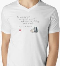 Jack's Julian of Norwich - All Shall Be Well Men's V-Neck T-Shirt
