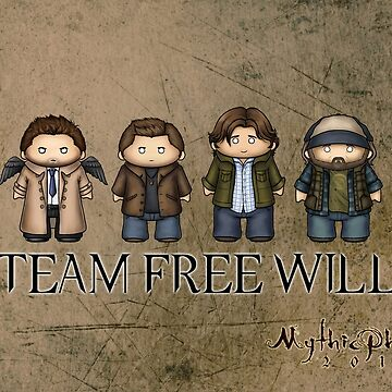 Team Free Will by MythicPhoenix