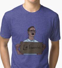 Kit and Lafawnduh Tri-blend T-Shirt