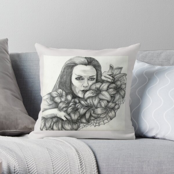 Amongst The Web Of Beauty Throw Pillow