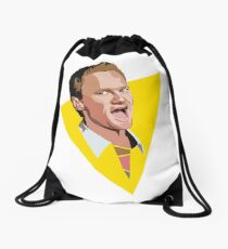 The Legend Of Barney Drawstring Bag