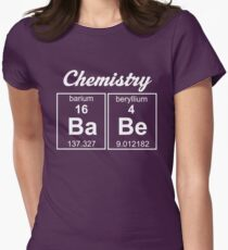 Chemistry Babe Women's Fitted T-Shirt