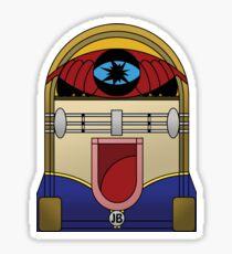 JB the Jukebox Hero Sticker
