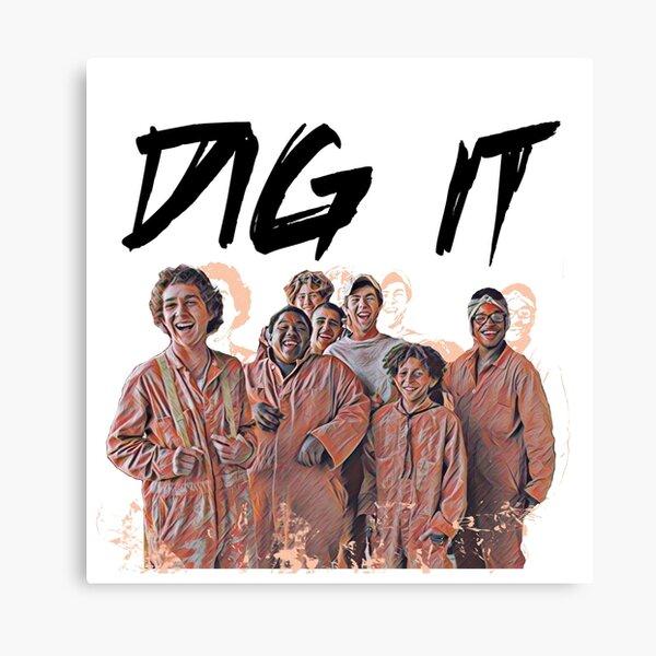 Dig It Canvas Print