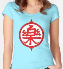 Yamcha Kanji Women's Fitted Scoop T-Shirt