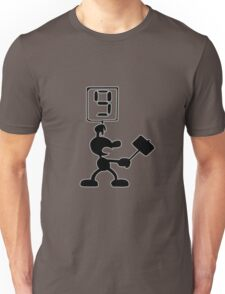 Game and Watch 9 Hammer Unisex T-Shirt