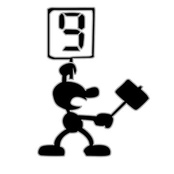 Game and Watch 9 Hammer by simplesmash