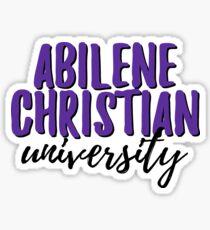 Abilene Christian University Sticker