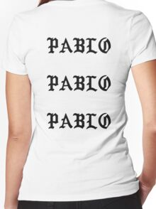 Pablo Women's Fitted V-Neck T-Shirt