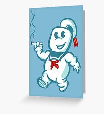Stay Puft Puff Greeting Card
