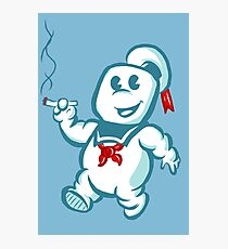 Stay Puft Puff Photographic Print