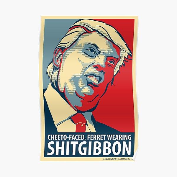 SHITGIBBON Swag! Poster