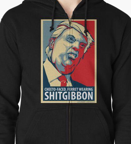 SHITGIBBON Swag! Zipped Hoodie