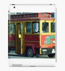 Vancouver Trolley iPad Case/Skin
