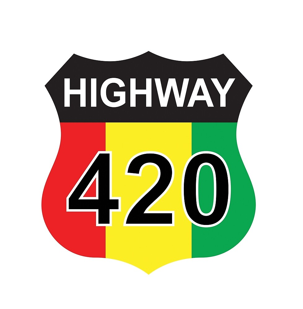 Highway 420 rasta rastafarian